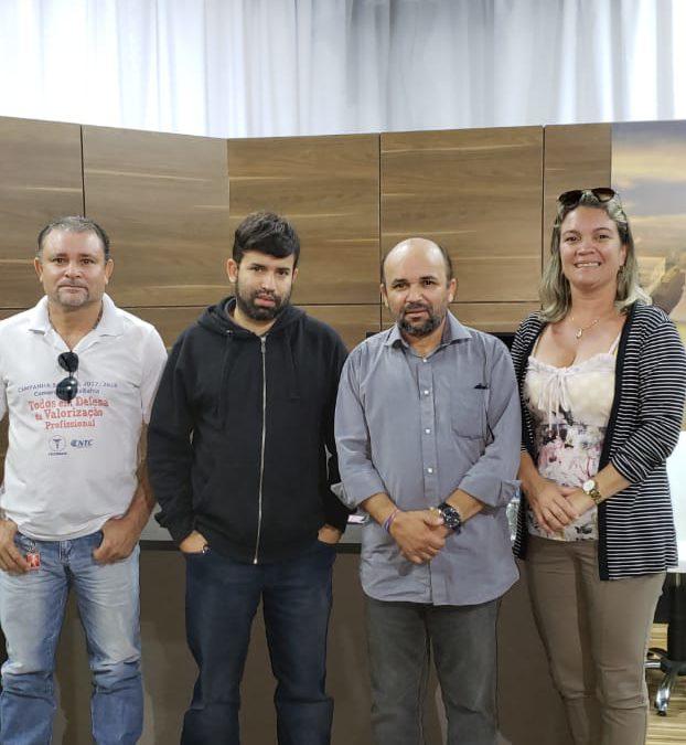 Reunião de implantação do Cartão de Adiantamento Salarial em Coraci