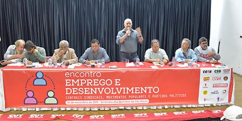 Geração de emprego e desenvolvimento é tema de encontro em São Paulo