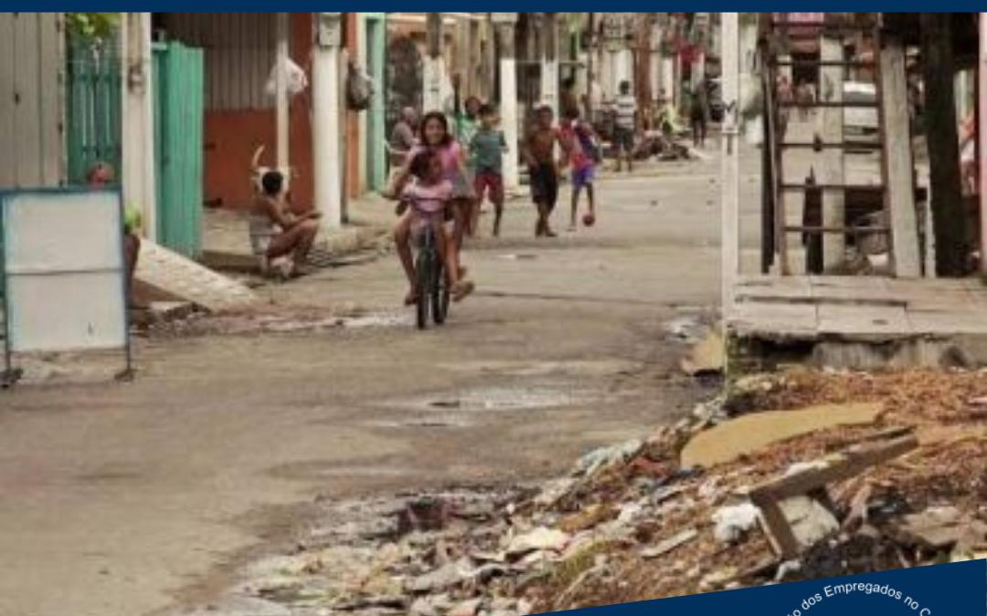 Brasileiro mais pobre levaria nove gerações para atingir renda média do país, diz estudo