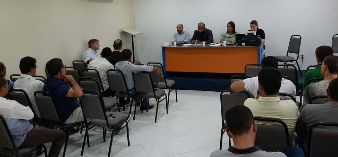 Mesa de negociação salarial do SECOMJER